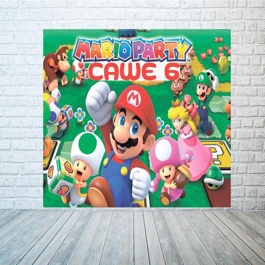 Баннер Марио размер на выбор