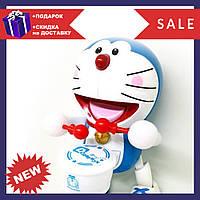 Интерактивная танцующая игрушка с барабаном Dancing Happy Doraemon   барабанщик Дораэмон