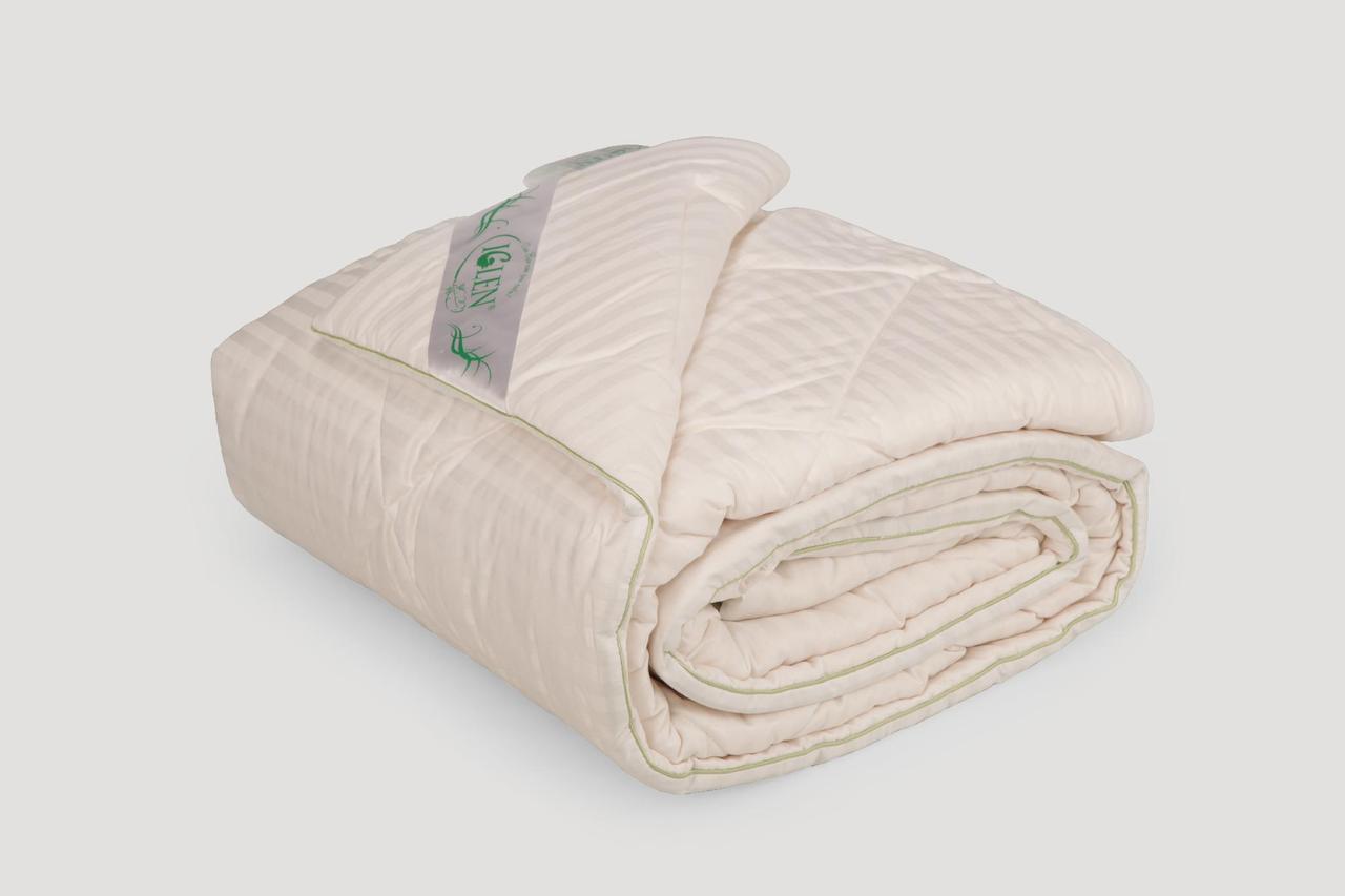 Одеяло IGLEN из хлопка в жаккардовом сатине Летнее 160х215 см Белый (160215711)