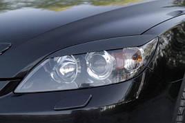 Реснички, накладки на фары Hyundai Accent 2005-