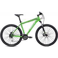 """Горный велосипед Fuji Nevada 27, 5 1.4 зеленый/серебристый 17"""" (GT)"""