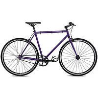 Городской велосипед фикс Fuji Declaration фиолетовый 56 (GT)
