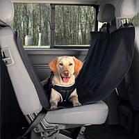 Коврик защитный в автомобиль Trixie, нейлоновый, черный, 1,50х1,35 м