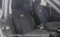 Чехлы на сиденья RENAULT MEGANE II sedan 2002-2009 задняя спинка цельная; 5 подголовников; airbag. 'NIKA'