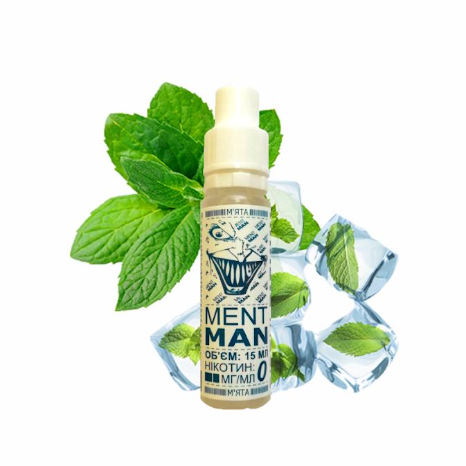 Жидкость для электронных сигарет Pink Fury Vape MENT MAN 6 мг 15 мл (Ментол)