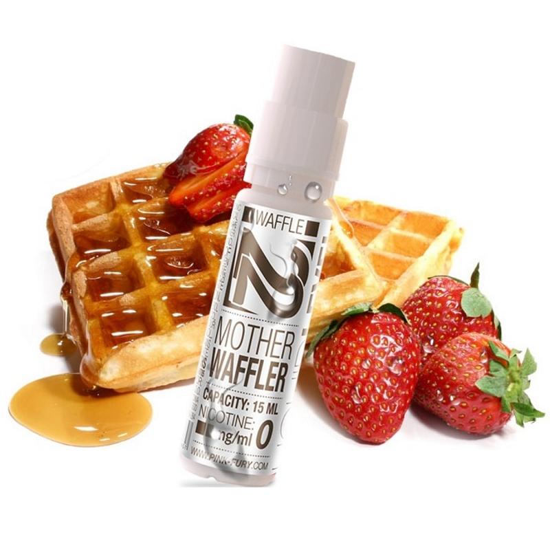 Жидкость для электронных сигарет Pink Fury Vape MOTHER WAFFLER 6 мг 15 мл (Вафли)