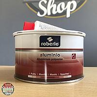 Шпатлёвка с алюминием Roberlo Aluminio, 1 литр (БЕЗ отвердителя)