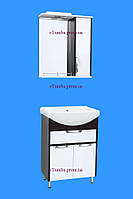 Комплект для ванной комнаты Принц Т-6 70 Венге