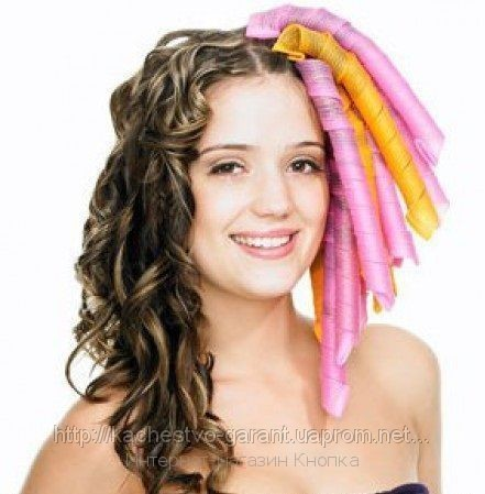 Бигуди спиральные Magic Leverage (силиконовые бигуди для волос)