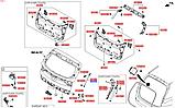 Амортизатор крышки багажника левый киа Спортейдж 4, KIA Sportage 2016-20 QLe, 81770f1000, фото 3