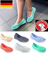Балетки летние. Женские босоножки, туфли мыльницы. Германия - Украина.