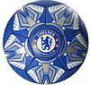 Мяч футбольный 2500-23ABC, размер 5, 400-420 г, 3 вида, фото 2