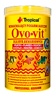 Сухой корм Tropical Ovo-vit для всех рыб,1L/200g
