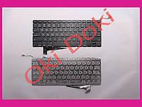 """Клавиатура APPLE MacBook Pro A1286 MB470 MB471 2008 15.4"""" US black горизонтальный энтер"""