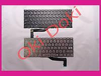 """Клавиатура Apple MacBook Pro Retina A1398 15"""" 2012-2015гг. US RU горизонтальный Enter клавиши под подсветку русские и английские"""