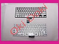 Клавиатура ASUS GX500 NX500 series rus silver