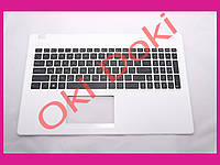 Клавиатура ASUS X551 R512 series Keyboard+передняя панель rus white