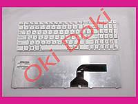 Клавиатура Asus A52 K52 X54 N53 N61 N73 N90 P53 X54 X55 X61 с белой рамкой type 3