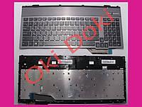 Клавиатура ASUS G55VW G57VW series rus black_x000D_ с рамкой и подсветкой