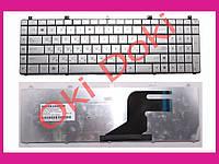 Клавиатура ASUS N55 N75 X5QS rus silver N55 version горизонтальный Enter type 2