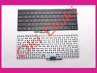 Клавиатура ASUS Q301 S301L S301LA rus black without frime русские буквы зеленого цвета