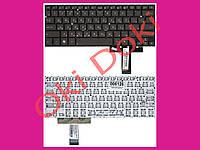 Клавиатура Asus UX31 UX31A UX32 UX32A  rus темно коричневая без фрейма клавиши под подсветку