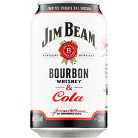 Напиток виски Jim Beam & Cola 330 ml