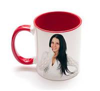 Чашка цветная с Вашей фотографией