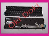 Клавиатура DELL Inspiron 15-5565 5567 5568 5587 5665 7566 7567 7569 7588 17-5765 5767 5770 5775  rus black без фрейма подсветка клавиш