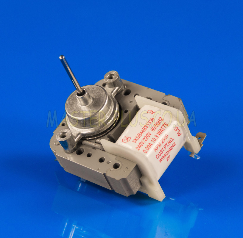 Мотор вентилятора обдува No-Frost 5KSB44BS1539 Вал 30*3,2 мм
