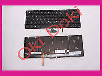 Клавиатура DELL XPS 15 9530 Precision M3800 eng black без фрейма подсветка клавиш вертикальный энтер type 1