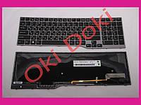 Клавиатура FUJITSU E753 E754 с подсветкой горизонтальный энтер original