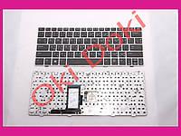 Клавиатура HP EliteBook 2560p 2570p black ИЕРОГЛИФЫ silver frime б.у