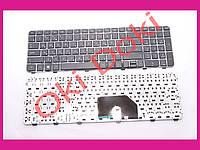 Клавиатура HP Pavilion dv6-6000 series черная c рамкой ентер горизонтальный type 2