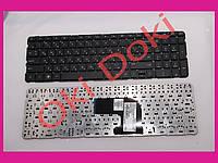 Клавиатура HP Pavilion dv6-7000 series черная без рамки горизонтальный Enter type 1