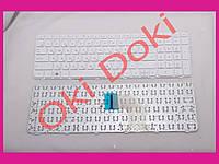 Клавиатура HP Pavilion G6-2000 белая с рамкой горизонтальный Enter