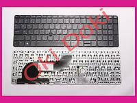 Клавиатура HP ProBook 650 G1 655 G1 rus black без рамки с трекпоинтом Оригинал