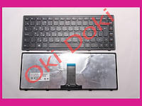 Клавиатура LENOVO Flex 14 G400s G405s S410p Z410 rus black frame