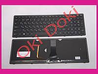 Клавиатура Lenovo Flex 15 Flex 15D G500s G505s S510p S500 dark silver с подсветкой type 2