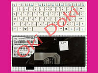 Клавиатура Lenovo IdeaPad S9 S10 белая