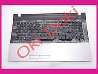Клавиатура Samsung NP305E7A NP305V7A NP300E7A NP300V7A черная с верхней панелью TOP Case