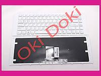 Клавиатура Sony Vaio VPC-EA VPCEA white frime