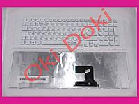 Клавиатура Sony VPC-EJ VPCEJ белая с рамкой вертикальный Enter