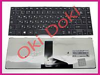 Клавиатура Toshiba satellite L40-A501 L40-A500D L40-A510 RU Black ентер вертикальный