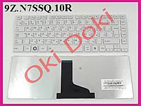 Клавиатура Toshiba Satellite L800  L830 M800 M805 C800 C800D C805 M840 RU white.