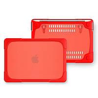 Чехол пластиковый для MacBook Air 13.3 Pro 13 2017/18 Red
