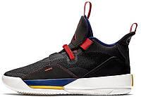 Баскетбольные кроссовки мужские Air Jordan 33 черные Арт. 4081