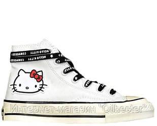 Кеды женские Converse x Hello Kitty 2.0 белые Арт. 3875