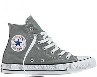 """Кеды женские Converse All Star Chuck Taylor High """"Charcoal"""" Арт. 2477"""