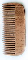 Гребешок для волос деревянный, (125мм)